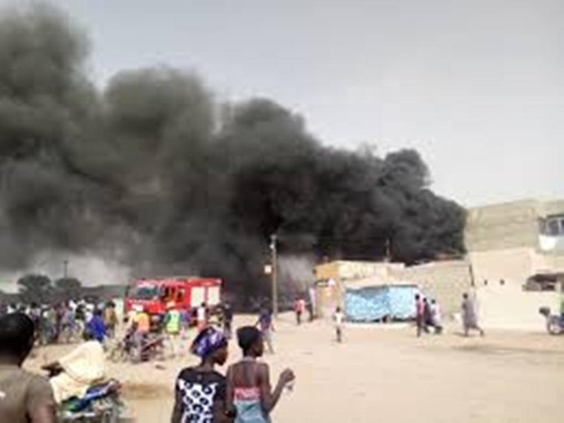 Département de Guinguinéo: 4 maisons ravagées par le feu au village de keur Yelly