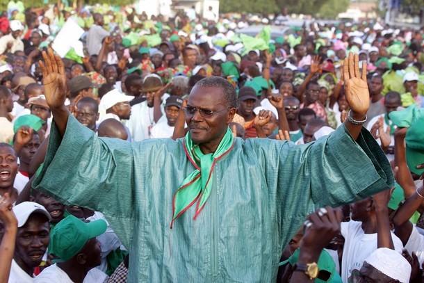 """Législative 2012 : Ousmane Tanor Dieng : """"Cheikh Sarr est et reste maire de Guédiawaye"""""""