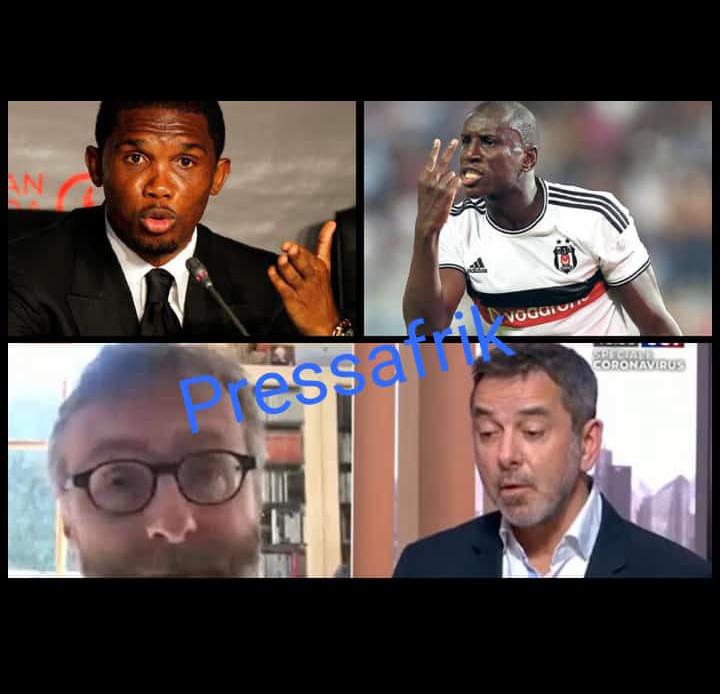 #Covid19- deux médecins provoquent la colère de Demba Ba et Samuel Eto'o, après avoir proposé de faire des études sur des Africains