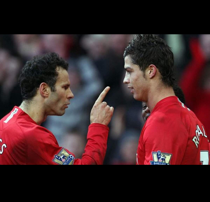 Giggs exclut Cristiano Ronaldo dans son onze de rêve de Manchester United