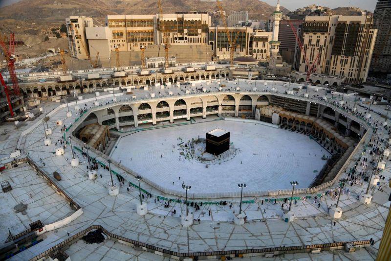 Coronavirus: Ryad rouvre l'esplanade de la Kaaba, lieu le plus saint de l'islam