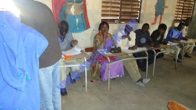 Scrutin Législatives 2012: Des mandataires du PDS manquent à l'appel faute de moyens