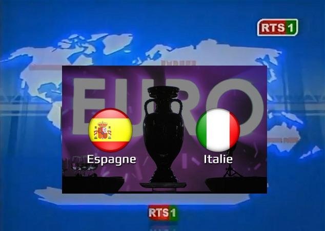 Scrutin législatives 2012: Quand la RTS zappe les résultats pour la finale de l'Euro?