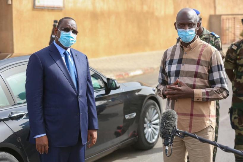 Coronavirus : Macky Sall salue le comportement responsable des Sénégalais face à la pandémie