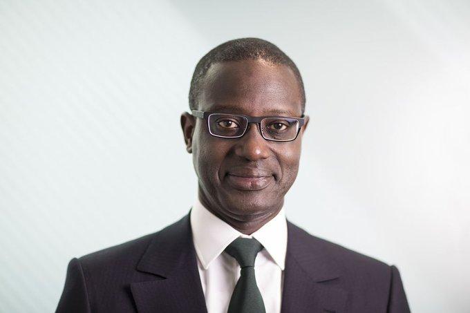 Nomination: Envoyé spécial de l'UA, Tidjiane Thiam préside la Force opérationnelle de l'Afrique contre le Coronavirus