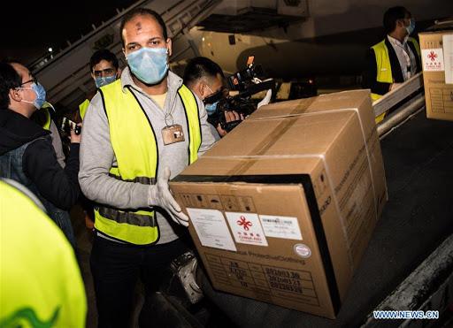 Coronavirus: l'Égypte envoie une aide médicale aux États-Unis