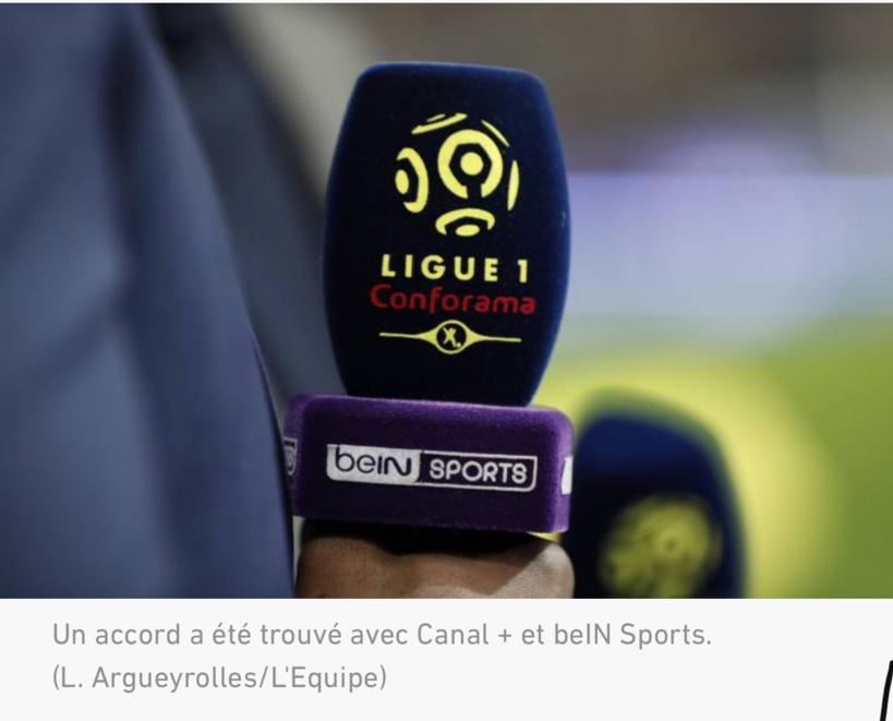 Droits télé : Canal + et beIN Sports vont payer la LFP