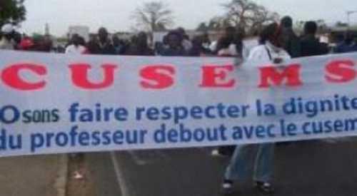 Bras de fer ministre de l'éducation-Syndicalistes: le SAEMES CUSEMS annonce un plan C pour contrer le plan B d'Ibrahima Sall