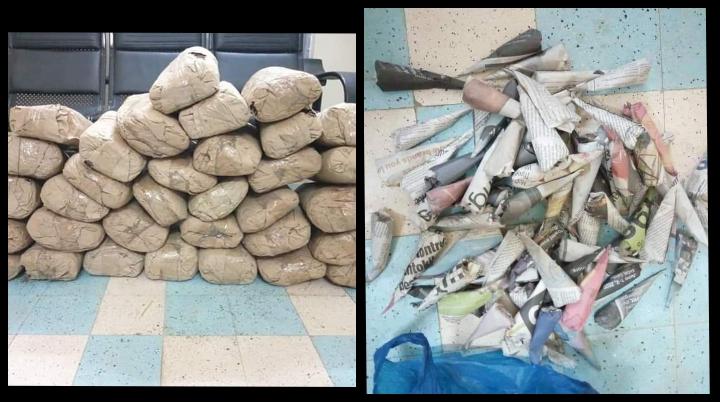 Thiès: la Docrtis saisit 66 kg et 72 cornets de chanvre indien