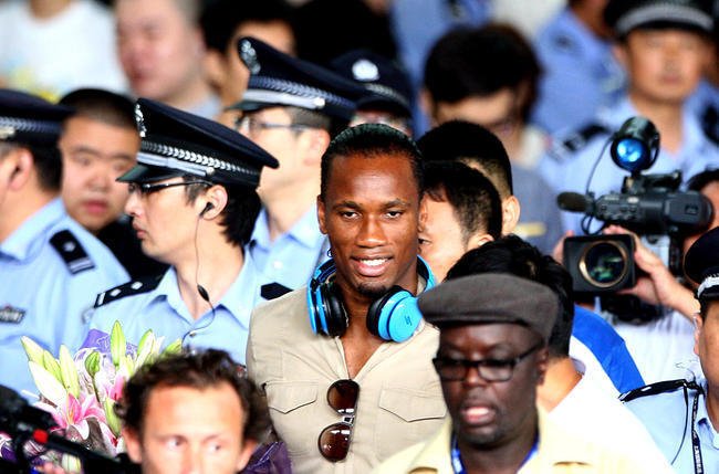 Chine : Drogba fait vendre