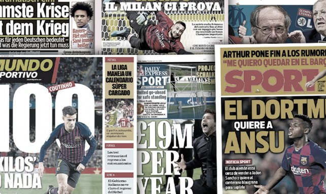 Le Barça réclame une somme folle pour Philippe Coutinho, le Bayern mise tout sur Leroy Sané