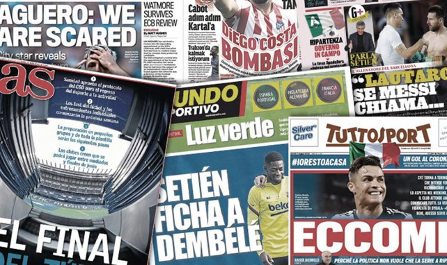 Le message alarmant de Sergio Agüero, l'avenir d'Ousmane Dembélé scellé au Barça