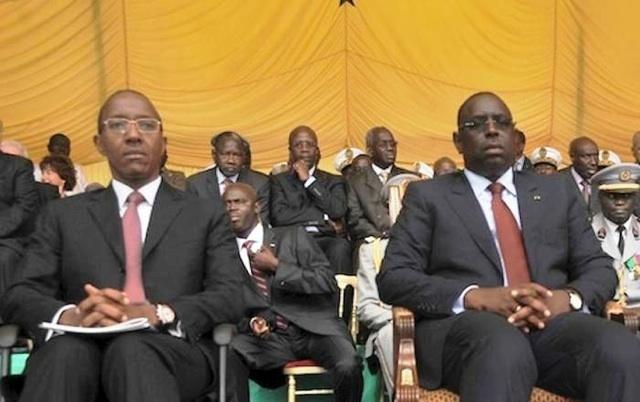 Le président Macky Sall et son Premier ministre, Abdoul Mbaye au bord du clash