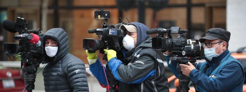 Une cinquantaine de journalistes sont morts du coronavirus depuis mars, selon une ONG suisse