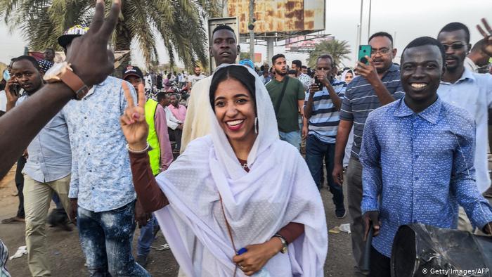 L'icône des manifestations au Soudan