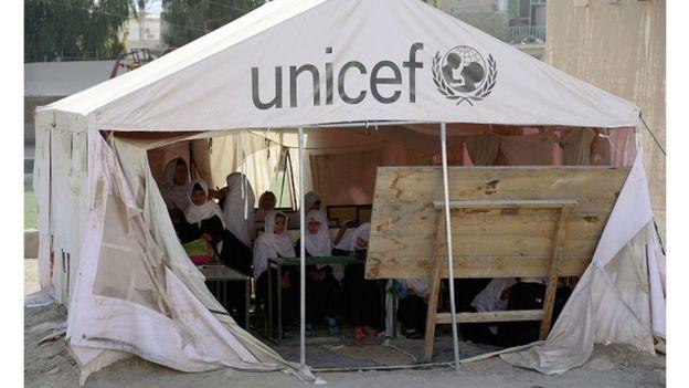 Des millions d'enfants en danger du fait du covid 19 selon l'UNICEF
