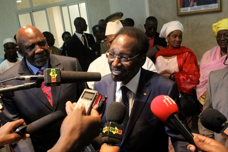 A Bamako, le retour très commenté de Dioncounda Traoré