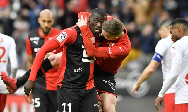 Mbaye Niang recadre le site français Footmercato, qui lui attribue un départ forcé de Rennes