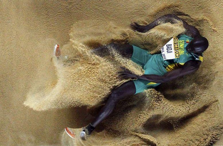 JO 2012-Saut en longueur : Ndiss Kaba Badji vise une place en finale