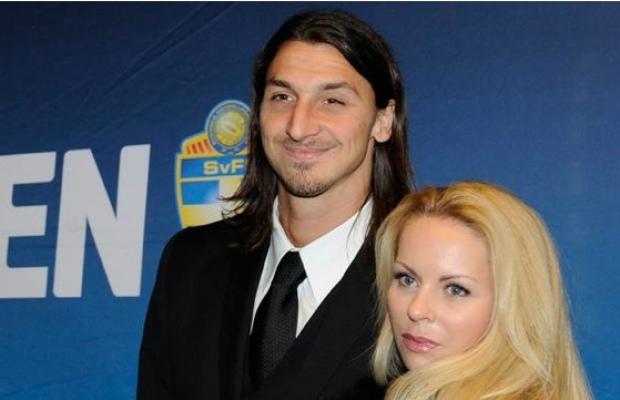 La femme de Zlatan victime d'un vol
