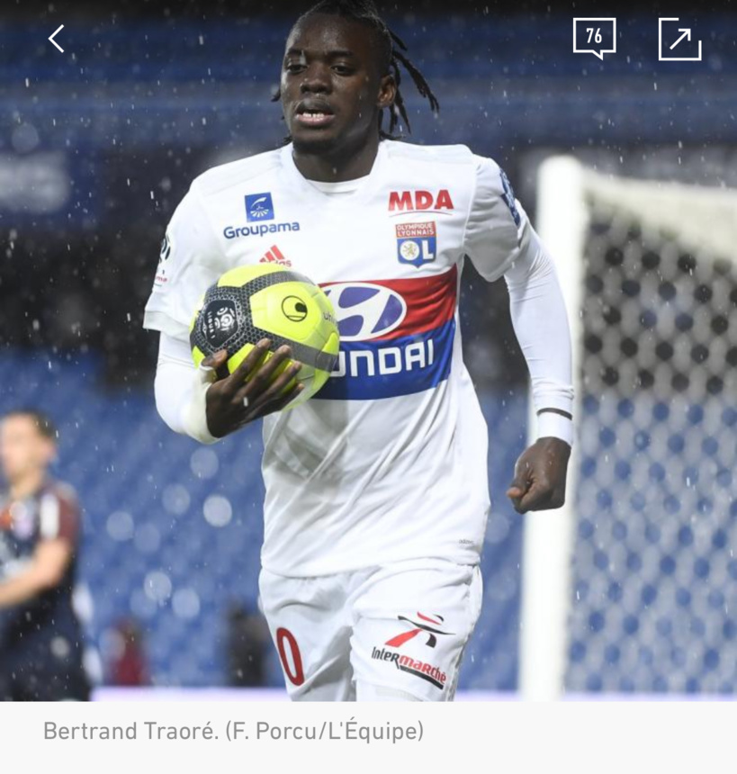 Transferts : Bertrand Traoré (OL) plaît au Betis Séville