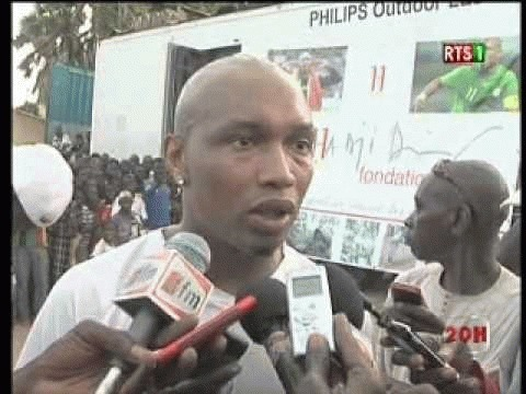JO 2012 : l'inexpérience a éliminé les lions, selon El Hadj Diouf