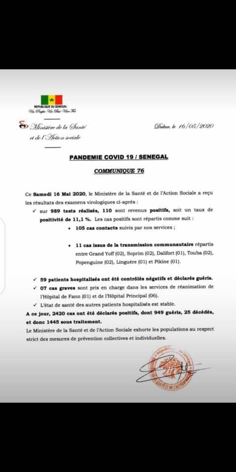 Coronavirus: erreur sur les chiffres du point du jour du ministère de la Santé