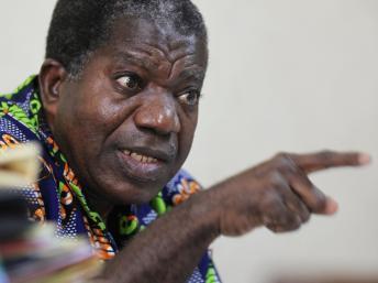 Sylvain Miaka Ouretto, le président par interim du FPI, propose de s'asseoir avec le pouvoir, en dépit des pressions.