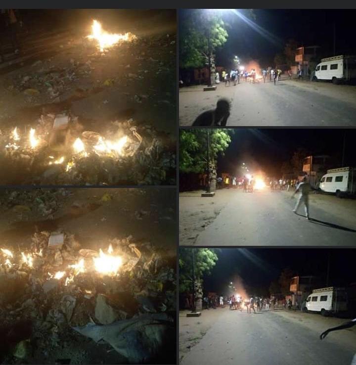 Manifestations contre le couvre-feu: Des émeutes à Tamba et à Mbackés