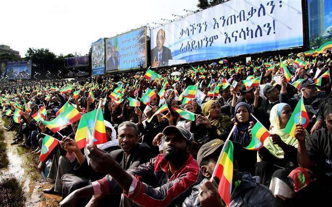 Ethiopie : funérailles en grande pompe pour Meles Zenawi
