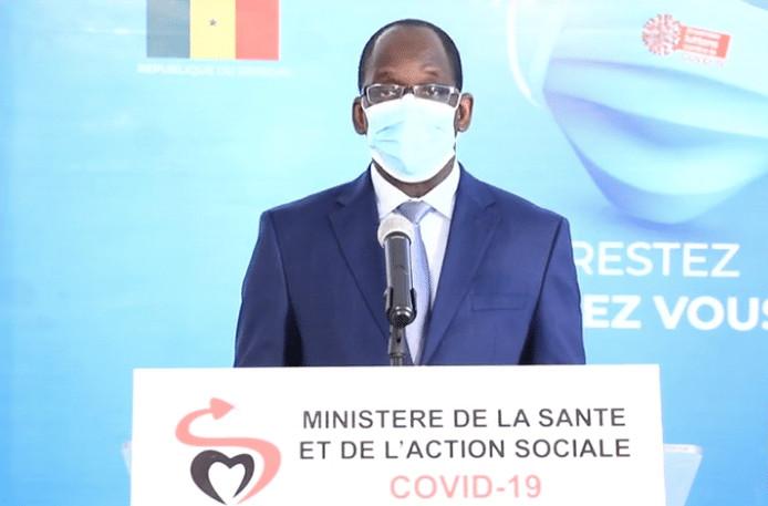 Le Sénégal enregistre un record quotidien de contaminations le lendemain du pic annoncé par le ministre la Santé