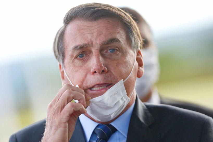 #Covid_19 - Le Président Bolsonaro menace de retirer le Brésil de l'OMS