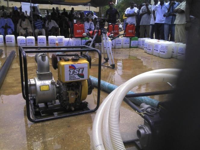 L'AJEB au chevet des sinistrés met en garde contre tout détournement du matériel