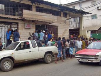 Malabo, capitale de la Guinée Equatoriale.