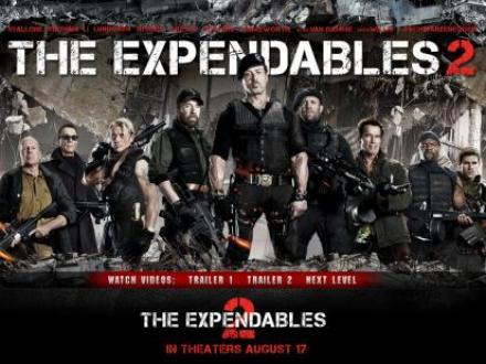 "Box-office: ""Expendables 2"" toujours 1er en France"