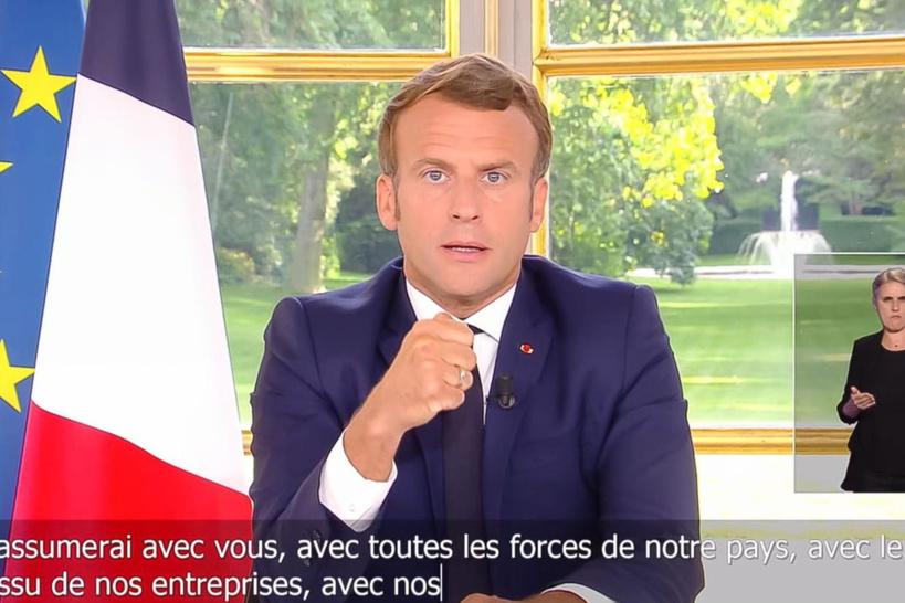 Ce qu'il faut retenir de l'allocution d'Emmanuel Macron