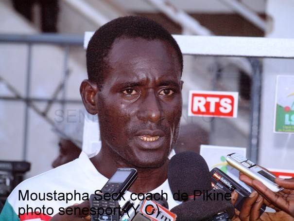 Coupe de la ligue: Le coach de l'AS Pikine explique la défaite de son équipe face à Niary Tally