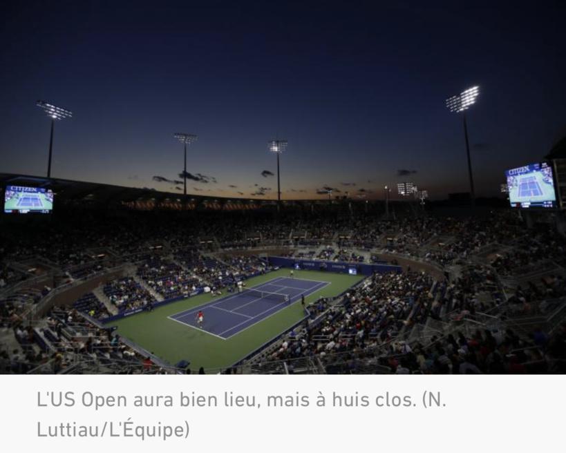 Tennis: Le gouverneur de New York autorise la tenue de l'US Open