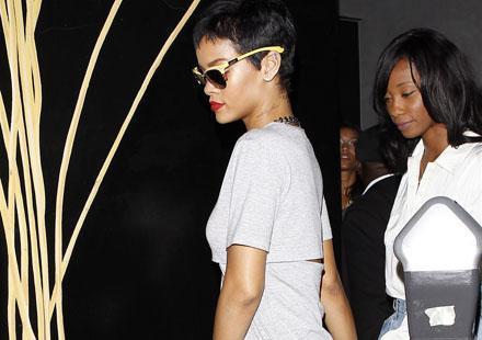 Rihanna : on a failli voir sa culotte, enfin si culotte il y avait !