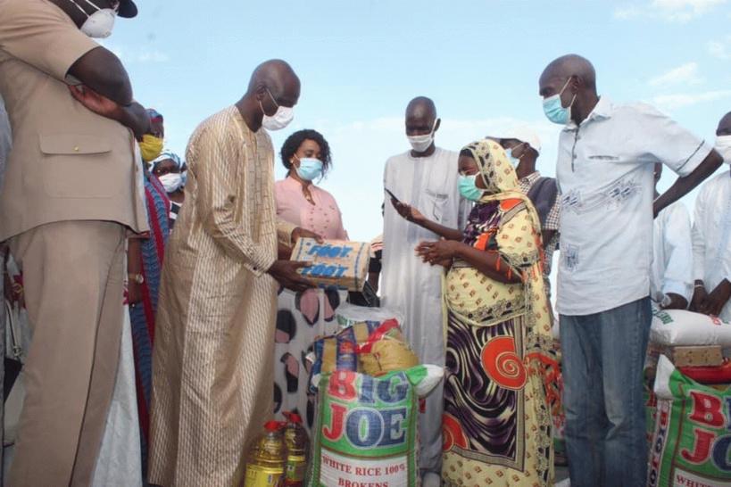 La distribution de l'Aide alimentaire s'est faite dans la cacophonie à Louga