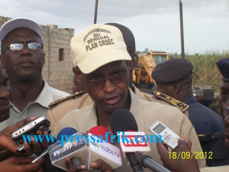 """Inondations - Cheikhou Cissé: """"... bientôt la libération une bonne fois pour toute, des populations des eaux"""""""