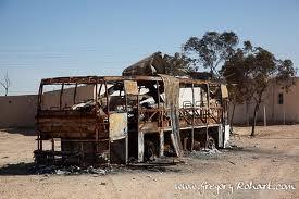Un bus prend feu en pleine circulation sur la nationale 1 et sème la panique