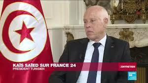 """Kaïs Saïed sur France 24 : """"Je n'aime pas que l'on me marche sur les pieds"""""""