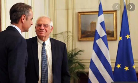 Frontières: le chef de la diplomatie européenne réaffirme son soutien à la Grèce