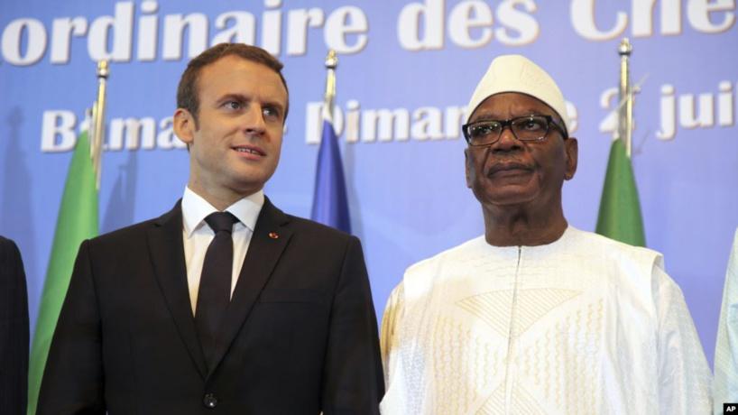 Macron à Nouakchott pour parler G5 Sahel et sécurité en Afrique