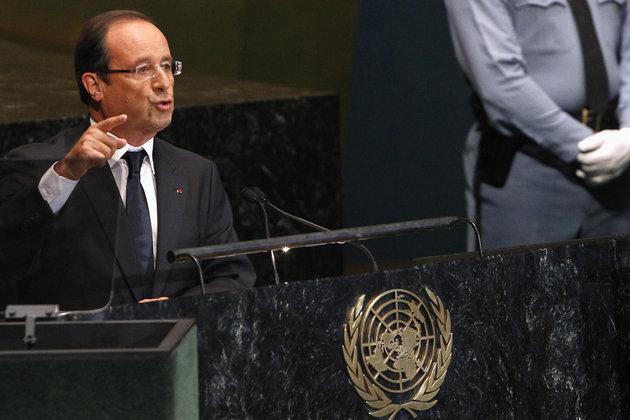 Quand Hollande snobe Royal à l'ONU