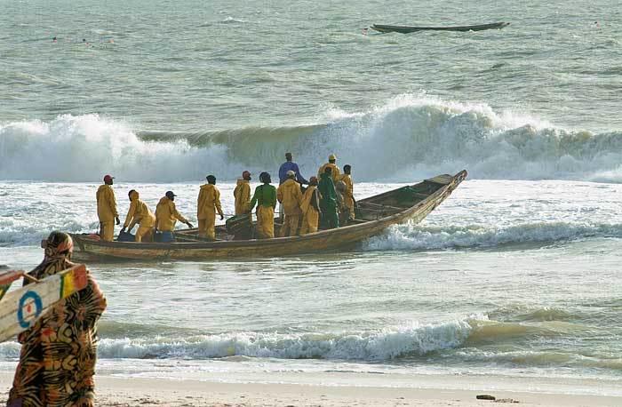 Des pêcheurs sénégalais  à  bout face aux agissements des Bissau guinéens