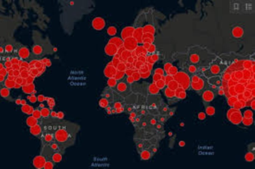Coronavirus dans le monde : 649 morts aux Etats-Unis et 1252 au brésil en 24h