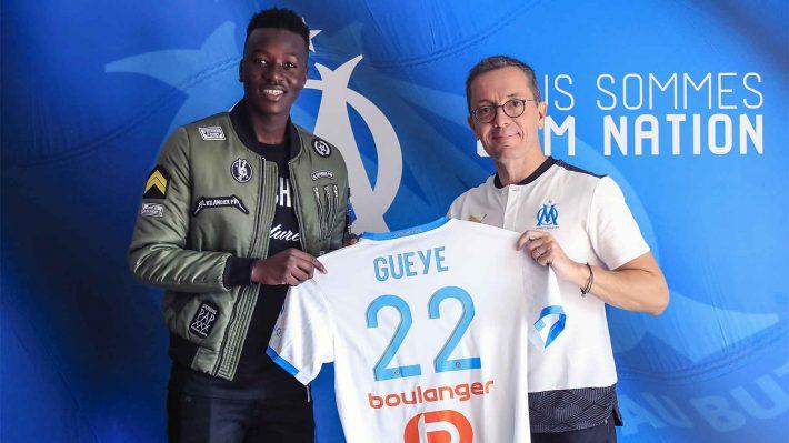 Le nouveau joueur de l'OM, Pape Gueye se voit entre la technique de Pogba et la récupération de Ngolo Kanté