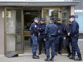 L'une des opérations policière s'est déroulée à Strasbourg, samedi 6 octobre 2012.